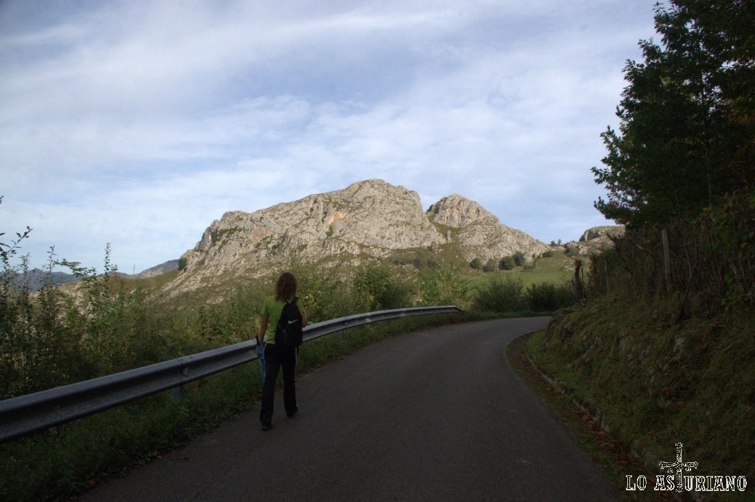 por carretera hacia Villaverde