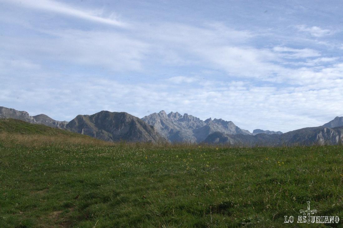 Picos de Europa desde Villaverde