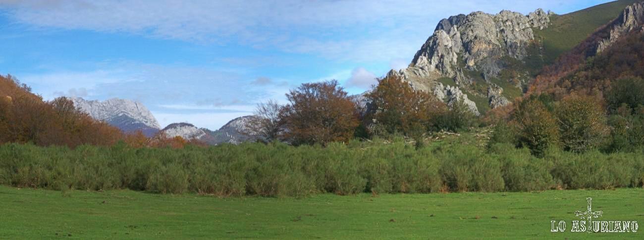 Vega Pociellu, concejo de Caso, Parque Natural de Redes.