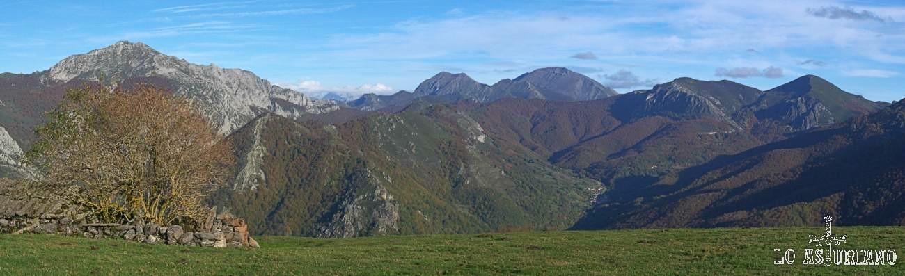 Las fabulosas vistas desde Cerreu