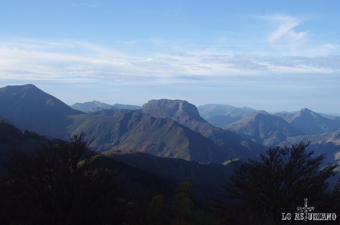 Vistas desde el monte del Pando hacia el norte