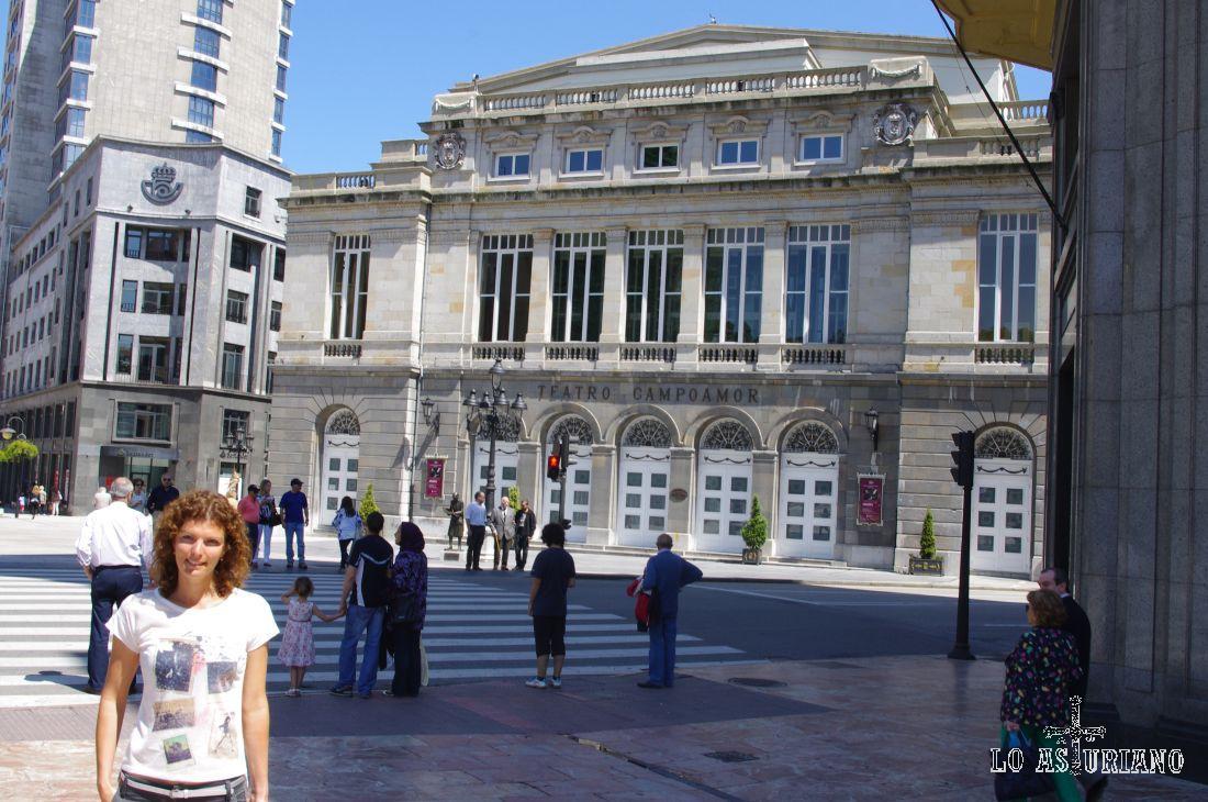Teatro Campoamor, de Oviedo, donde se entregan los premios Príncipe de Asturias.