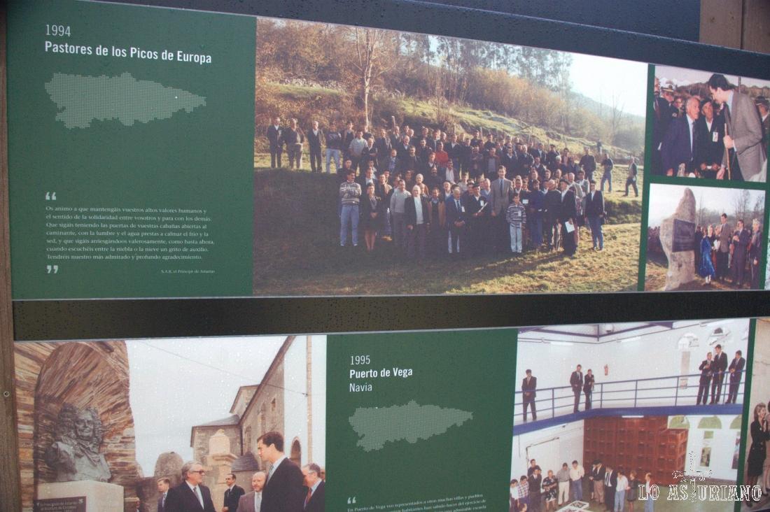 Los Pastores de los Picos de Europa y Puerto de Vega, en Navia, también nominados en su día como Pueblos Ejemplares de Asturias.