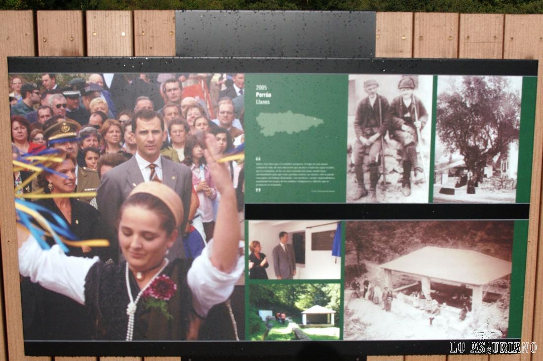 Porrúa, Llanes, también en su día Pueblo Ejemplar de Asturias.