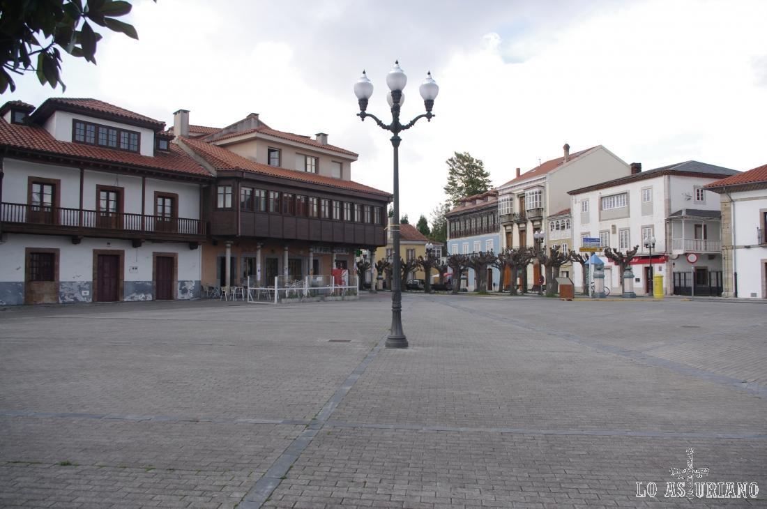 Plaza del Marqués de Muros.