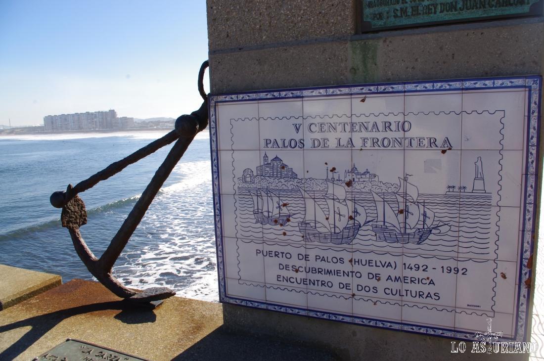 Entrada del museo de anclas Philippe Cousteau, donde puedes ver anclas de todas las épocas y tamaños.