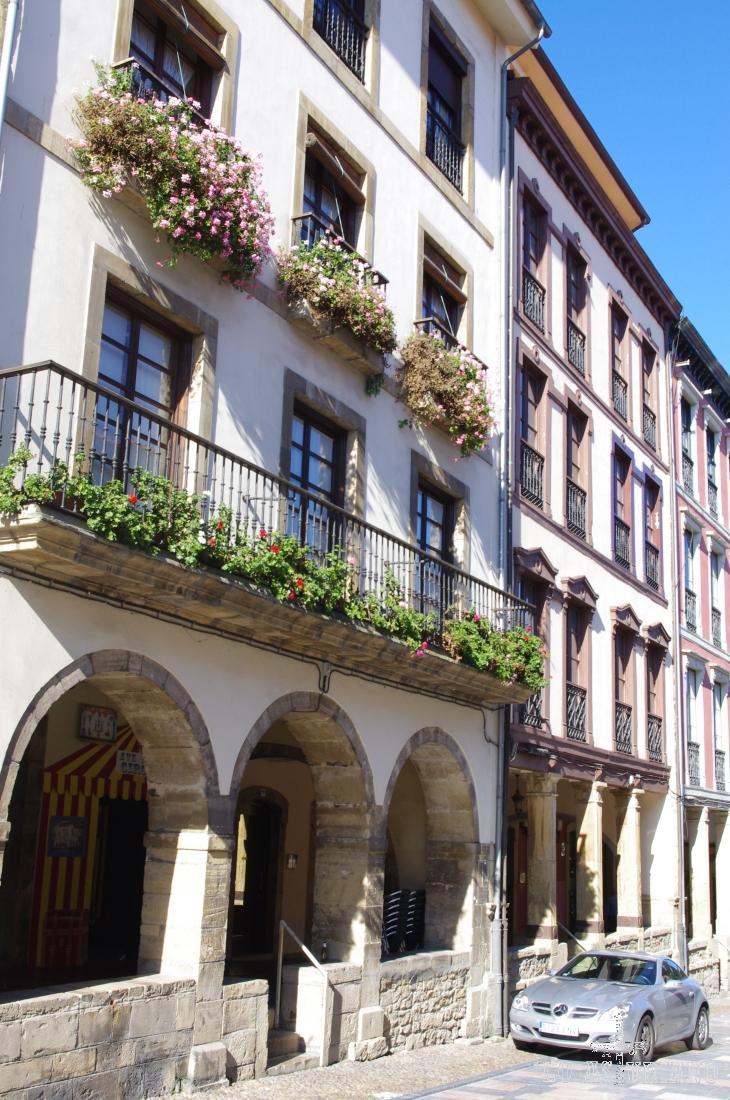 El casco antiguo de Avilés fue declarado Conjunto Histórico Artístico el 27 de mayo de 1955.