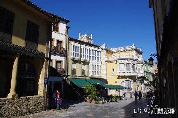 El casco antiguo de Avilés fue declarado Conjunto Histórico-Artístico en 1955.