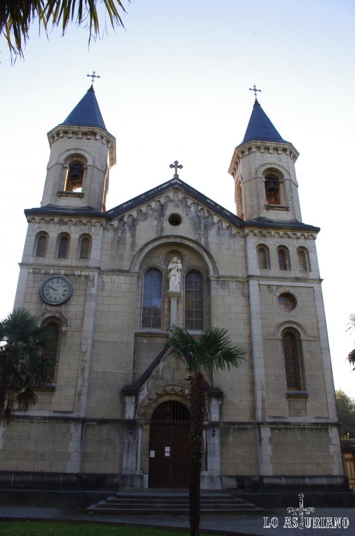 Jesús de Nazareno en La Quinta en el Pito (Piñera), muy cercana a Cudillero.