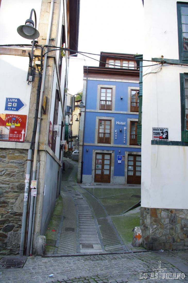 Hotel Casa Prendes, en la villa de Cudillero.