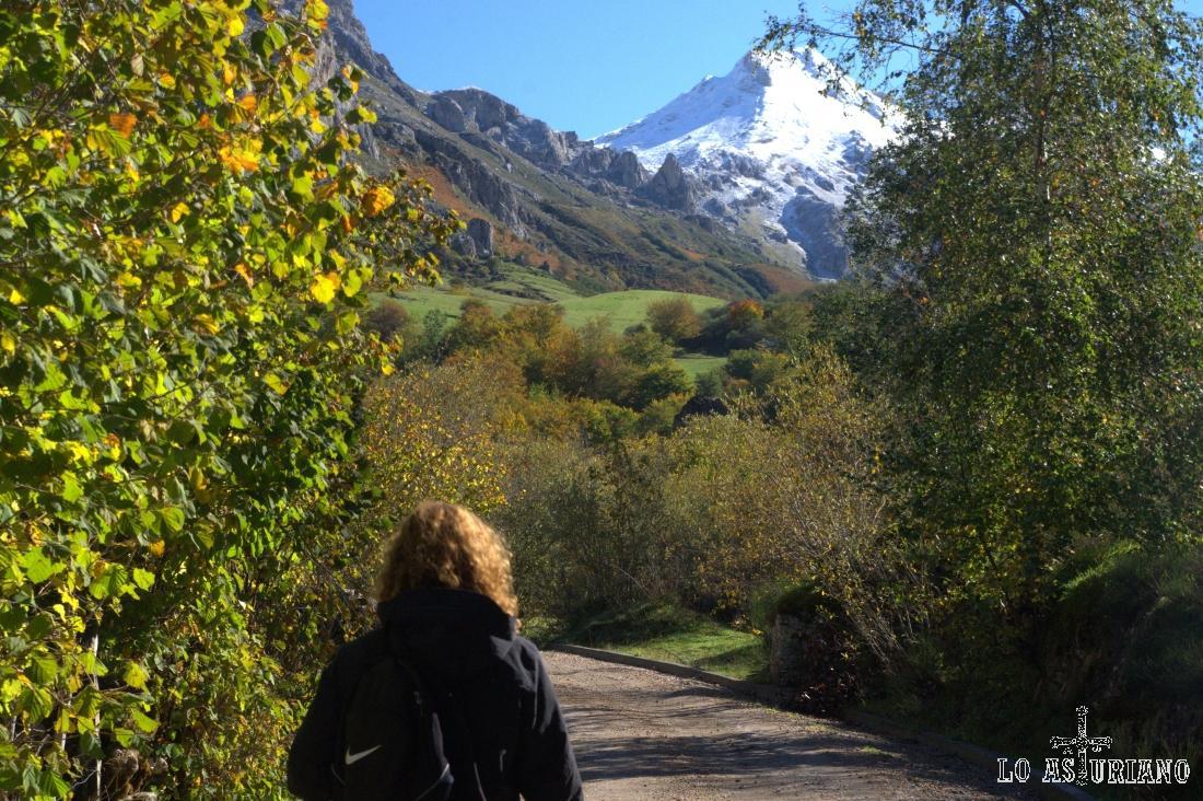 Fantástico paseo de senderismo otoñal en Somiedo.