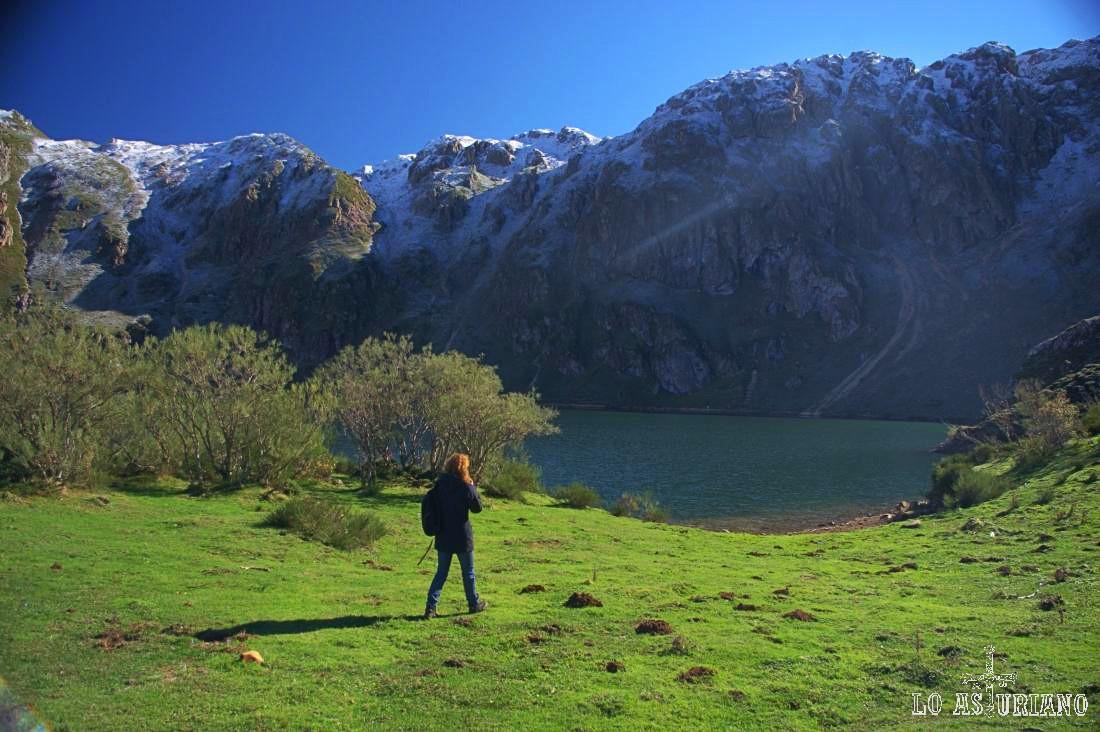 Lago del Valle, en el Parque Natural de Somiedo.