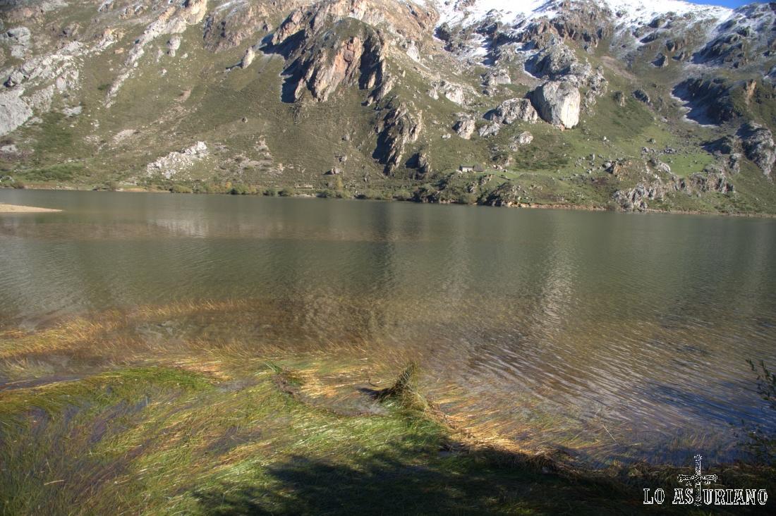 En el lago del Valle aparece vegetación acuática como enebrales rastreros o aulagares.