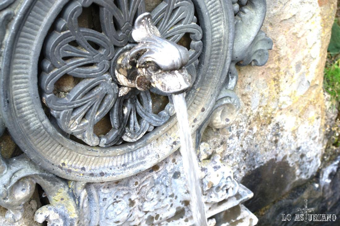 Fuente de Choao, en Bermiego, Quirós.