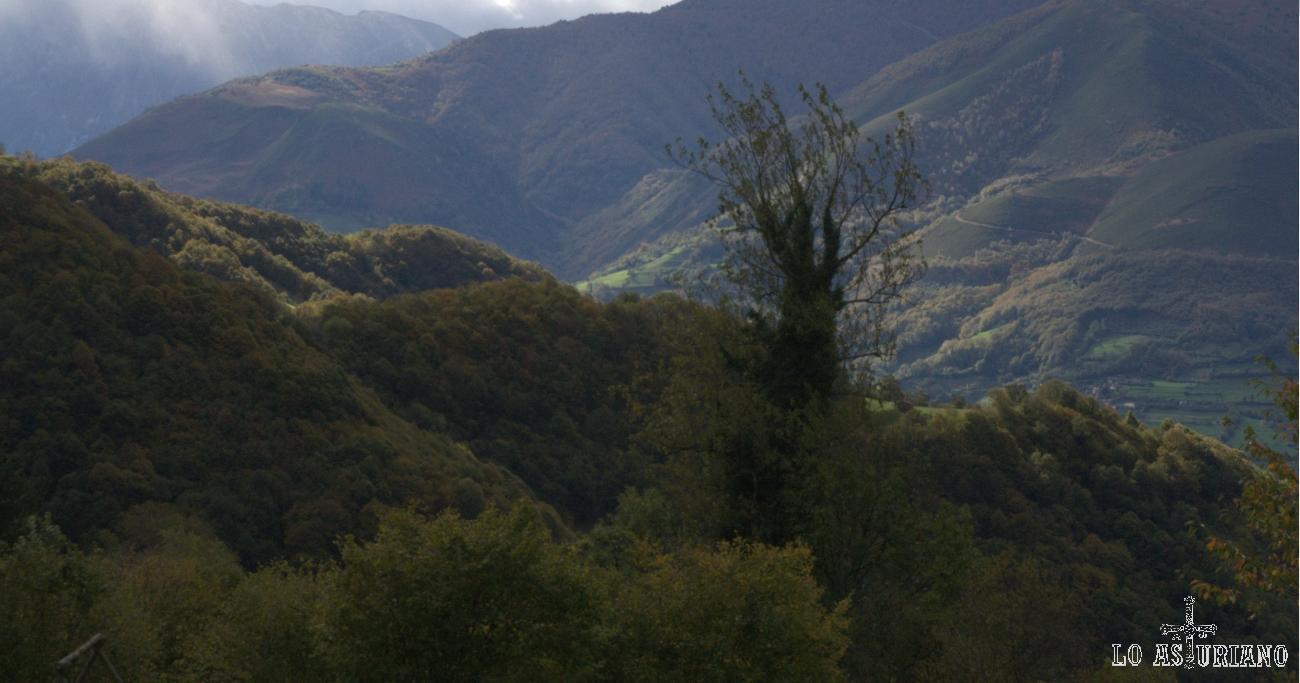 Paisajes del concejo de Quirós, Asturias.