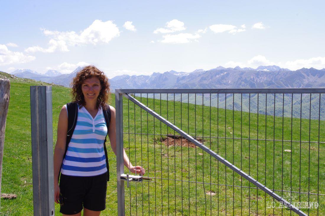Valle de Saliencia desde la Corra
