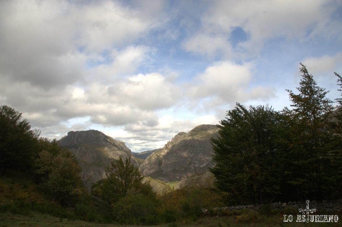 Que bonito día de otoño tuvimos en esta subida a Sousas.