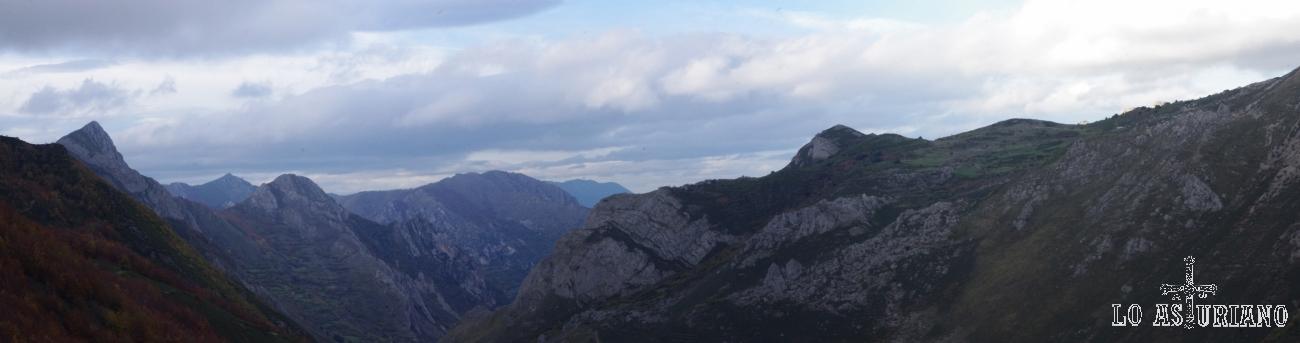 Puntas y picachos del valle del Somiedo, en Asturias.
