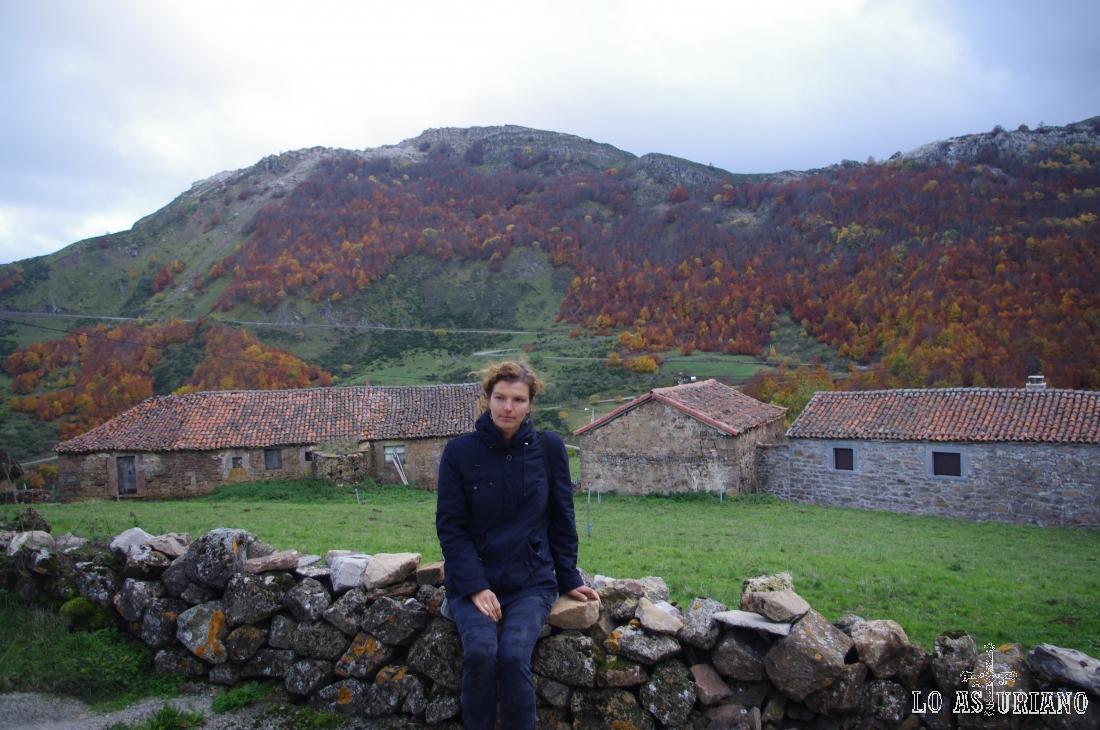 El pueblo vaqueiro de La Peral, en el alto Somiedo.