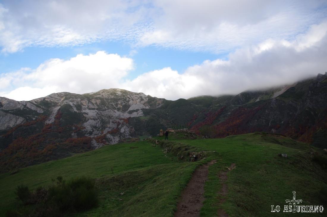 Alto del Cuerno, a 1373 metros, donde está el mirador del Príncipe.