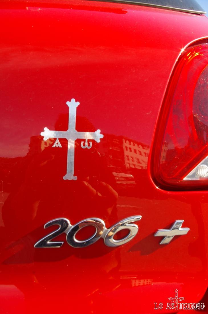La cruz de la victoria, símbolo identificativo para muchos asturianos.