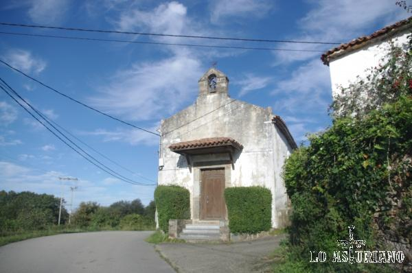 Ermita en la Concha de Artedo, Cudillero.