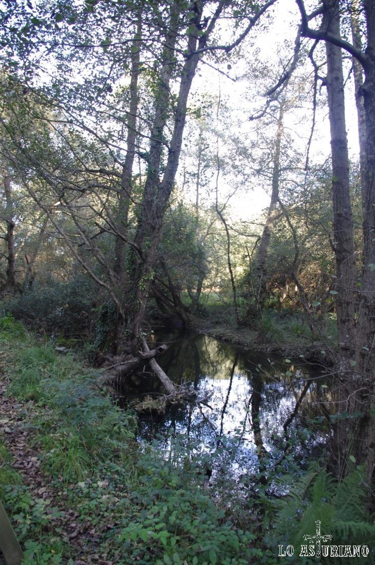 El río Uncín.