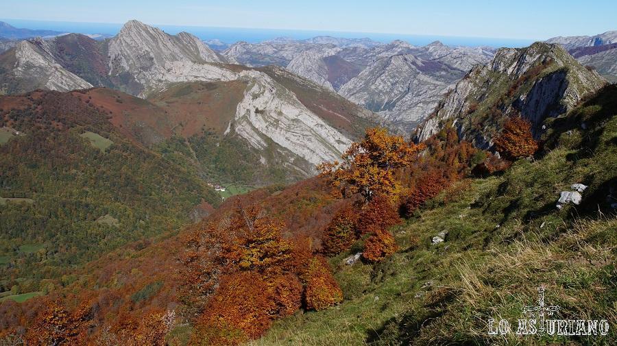 Pico Carriá y el desfiladero de los Beyos